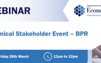 Upcoming Chemical Stakeholder Events