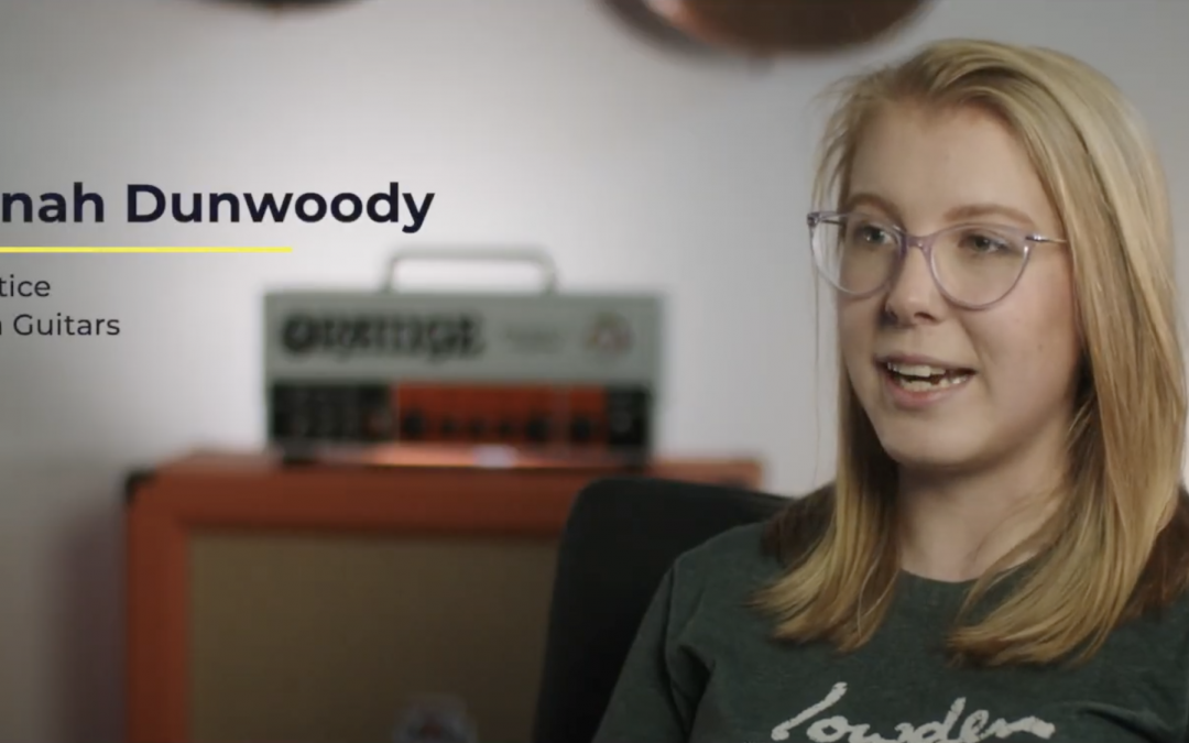 Apprenticeship Testimonial- Hannah Dunwoody at Lowden Guitars
