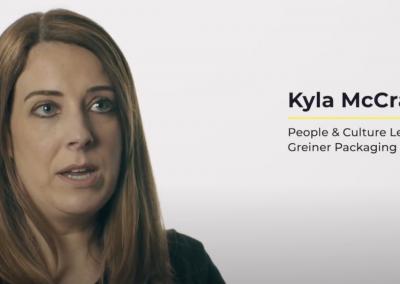 Apprenticeship Testimonial- Kyla McCracken at Greiner Packaging