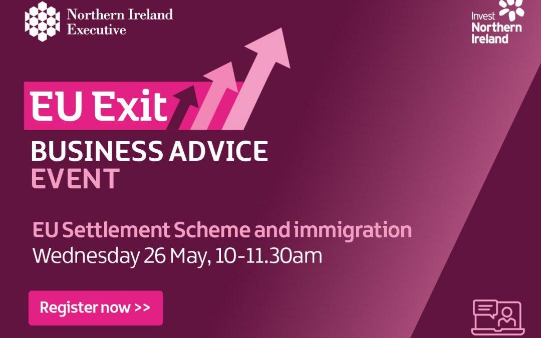 EU Exit Event- Webinar | EU Settlement Scheme and Immigration Advice