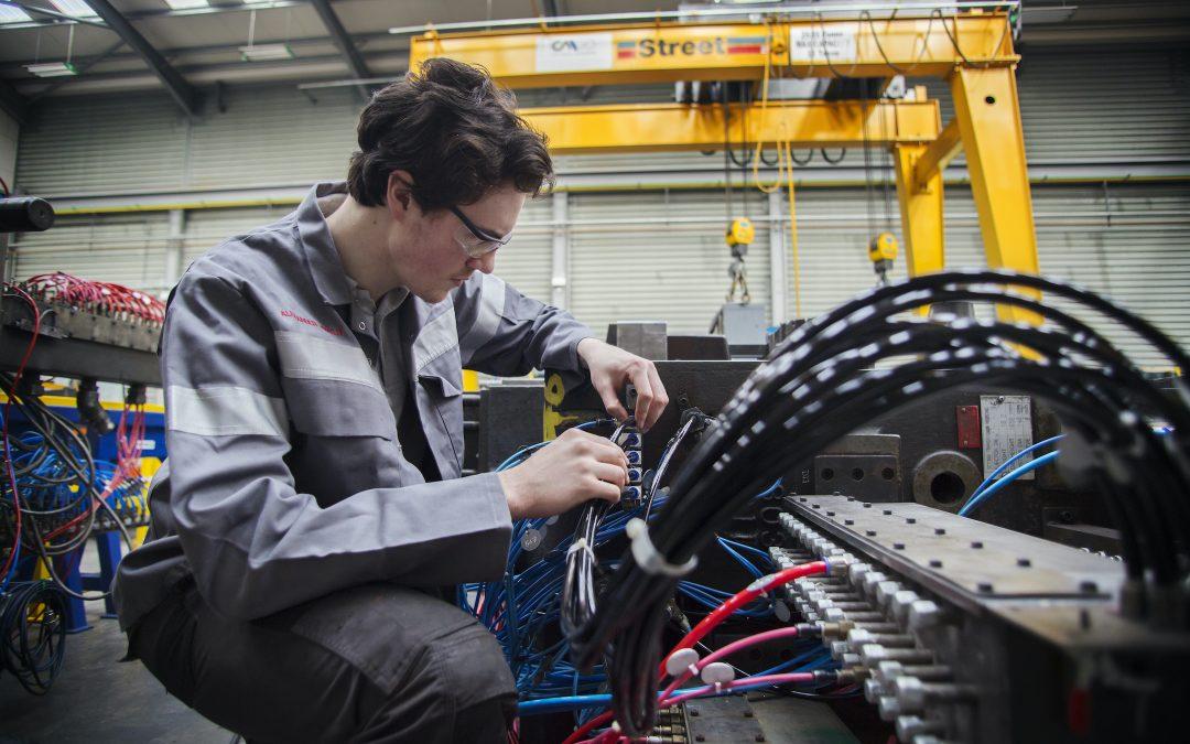 Ryobi praises Northern Regional College apprenticeship programme