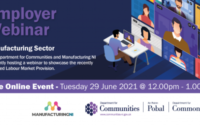 Department for Communities Programmes and Services Webinar
