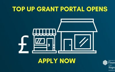 Grant Portal Opens for Business Top Up Payments