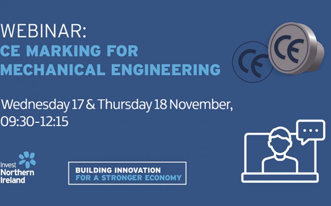 Webinar: CE marking for Mechanical Engineering